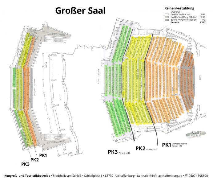 Stadthalle Aschaffenburg Programm 2021